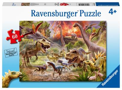 Ravensburger - Dinosaur Dash Puzzle 60 piece RB05164-9