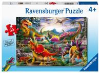 Ravensburger - T-Rex Terror Puzzle 35 piece RB05160-1