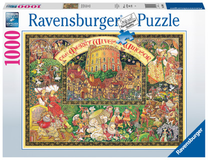 Ravensburger - Windsor Wives Puzzle 1000 piece RB16809-5