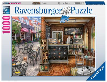 Ravensburger - Quaint Cafe Puzzle 1000 piece RB16805-7