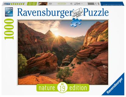 Ravensburger - Zion Canyon USA Puzzle 1000 piece RB16754-8