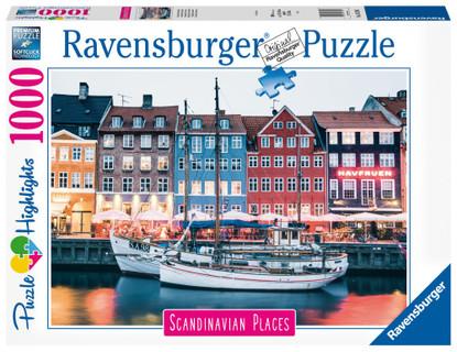 Ravensburger - Copenhagen Denmark Puzzle 1000 piece RB16739-5