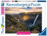 Ravensburger - Haifoss Waterfall Iceland 1000 piece RB16738-8
