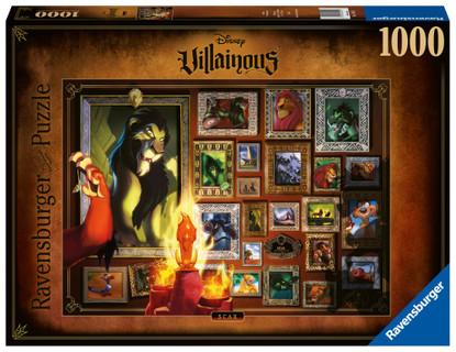 Ravensburger - Villainous Scar Puzzle 1000 piece RB16524-7