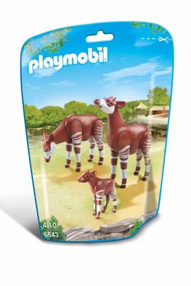 Playmobil – Okapi Family 6643 Zoo
