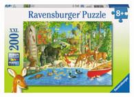Ravensburger - Woodland Friends Puzzle 200 piece RB12740-5