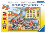 Ravensburger - Fire Brigade Puzzle 100 piece RB10822-0