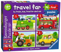 Ravensburger - Travel Far My First Puzzle 2 3 4 5piece RB07303-0