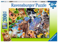 Ravensburger - Funny Farmyard Friends Puzzle 200 piece RB12902-7