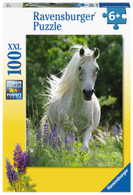 Ravensburger - Horse in Flowers Puzzle 100 piece RB12927-0