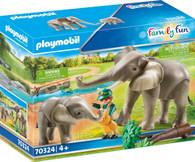 Playmobil - Elephant Habitat PMB70324