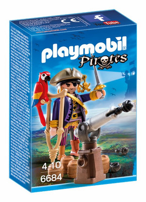 Playmobil – Pirates Captain 6684 Pirates