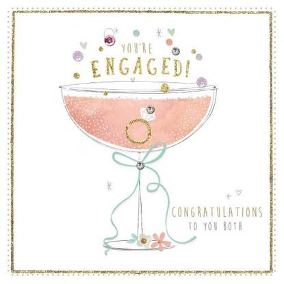 You're Engaged! Card - Morello Hotchpotch London