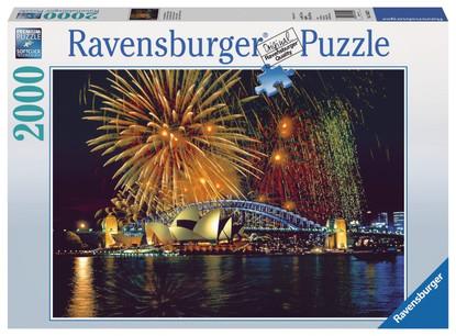Ravensburger - Fireworks Over Sydney Puzzle 2000 Pc