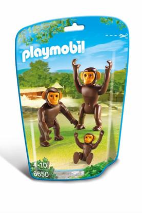 Playmobil – Chimpanzee Family 6650 Zoo Bag