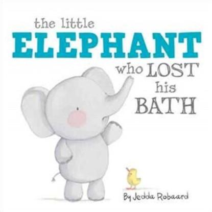 Litlle Elephant who lost his bath by Jedda Robbard