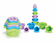 Green Toys – Stacking Cups Set Of 6
