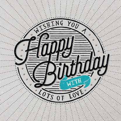 Wishing you a Happy Birthday Card -  Hotchpotch London