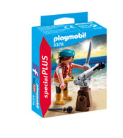 Playmobil - Pirate with Cannon 5378