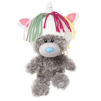 Dinky T Unicorn Hat Tatty Teddy