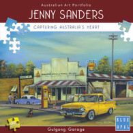 Jenny Sanders Gulgong Garage 1000pc Deluxe Jigsaw Puzzle Box