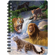 3D LiveLife Jotter - Big Cats Expedition
