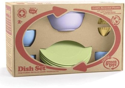 Green Toys Dish Set Boxed