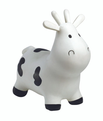 Happy Hopperz - White Cow - Small