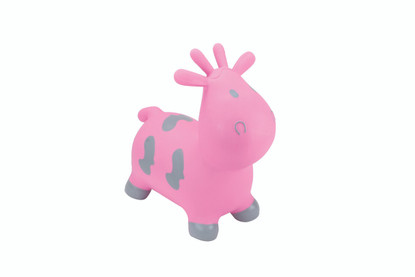Happy Hopperz - Pink Cow - Small