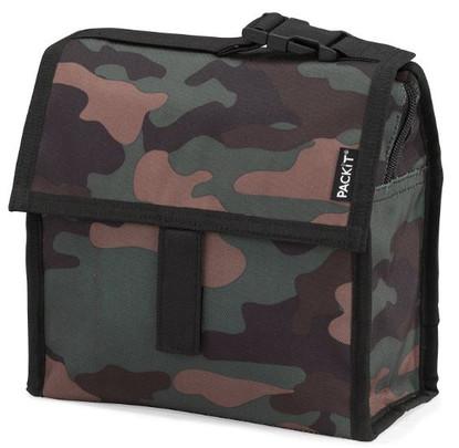 PackIT Mini Lunch Bag Camo folded