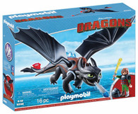 Playmobil 9246 Dragons Hiccup & Toothless - LED Light Effects Box