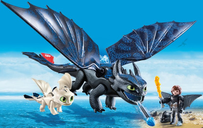 Playmobil - How to Train Your Dragon 3 - Hiccup and toothless 70037