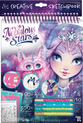 Nebulous Stars - Nebulia Creative Sketchbook