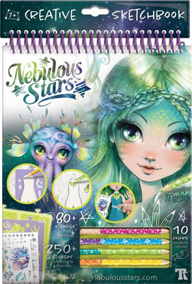 Nebulous Stars - Nebulous Stars - Marinia Creative Sketchbook GREEN