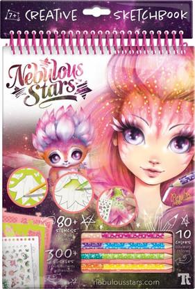 Nebulous Stars - Petulia Creative Sketchbook PINK