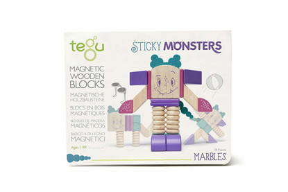 Tegu Magnetic Sticky Monsters Marbles Box