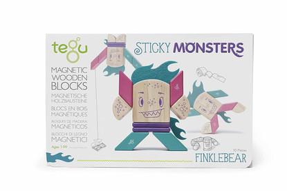 Tegu Magnetic Sticky Monsters Finklebear Box