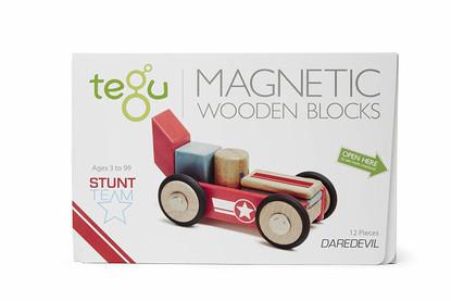 Tegu Magnetic Stunt Team Daredevil box