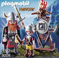 Playmobil - Vikings with Shield Egg Red (Easter Egg) 9209