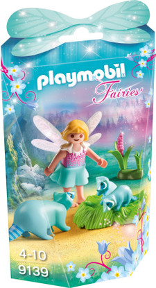 Playmobil - Fairy Girl with Racoons 9139