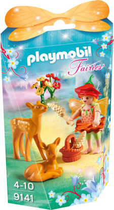 Playmobil - Fairy Girl with Fawns 9141