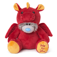 Dressed As a Red Dragon - Tatty Teddy (9 inch)