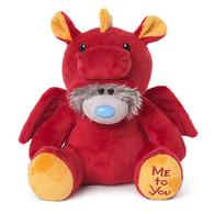 Dressed As a Red Dragon - Tatty Teddy (9 inch)