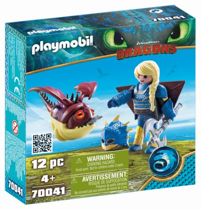 Playmobil - How to Train Your Dragon 3 - Astrid with Hobgobbler 70041