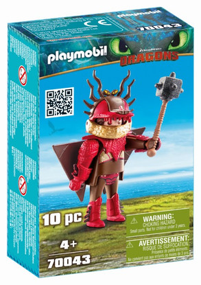 Playmobil - How to Train Your Dragon 3 - Snotlout in flight suit 70043