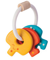 Plan Toys - Baby Key Rattle Bright 5217