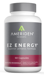Front of package for EZ Energy supplements