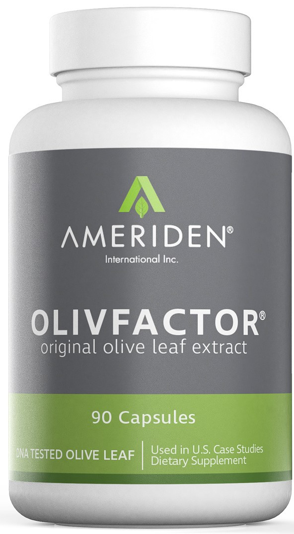 OlivFactor®/The Original Olive Leaf Extract - 90 Capsules, 525 mg ea