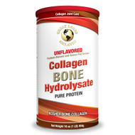 Bone hydrolyzed collagen packaging front