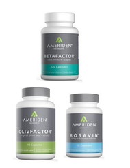IMMUNI-TEAM PACKAGE B:   1 BOTTLE OF EACH BETAFACTOR, OLIVFACTOR & ROSAVIN RETAIL $135.85		25% $101.89